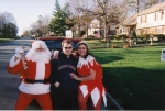 Santa Bill, Brian and Dot